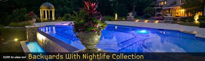 Backyard Swimming Pool Landscaping Ideas Swimming Pool Designs Landscape Architecture Design Nj