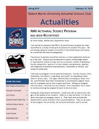 actualities spring 2015 by rmu sems issuu