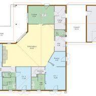 plan maison plain pied gratuit 4 chambres plan de maison gratuit 4 chambres pdf