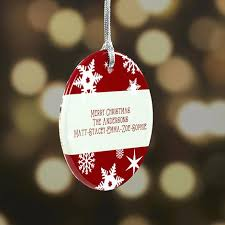 personalized christmas ornaments personalization mall