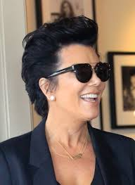 kris jenner hair 2015 jenner in short hair style with upward layers
