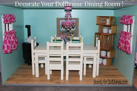 Dollhouse Dining Room Furniture Decorate Your Dollhouse Dining Room Doll Diaries