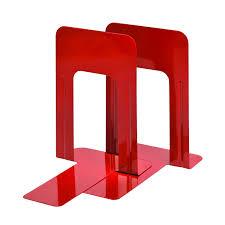 amazon com steelmaster deluxe steel 9 inch bookends 1 pair