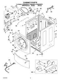 parts for whirlpool ggw9250pw3 dryer appliancepartspros com