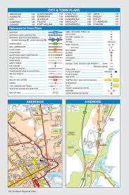 Dundee Scotland Map A Z Scotland Regional Road Atlas Release A Z Maps