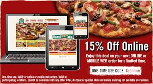 round table pizza coupons 25 off round table coupons promotions specials for may 2018