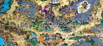 printable map disneyland paris park 1992 euro disneyland souvenir map disneyland paris treasures