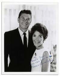 Nancy Reagan Lot Detail Ronald Reagan U0026 Nancy Reagan Signed U0026 Inscribed Black