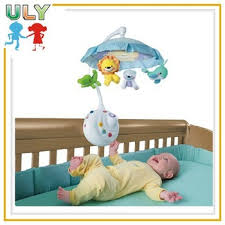 rollling projection baby cot mobile lighted baby mobile baby crib