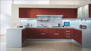 modular kitchen wood colors modern home design and decor full
