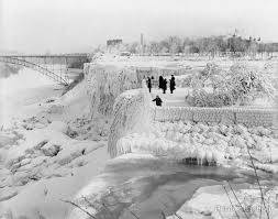 16 stunning vintage photos niagara falls winter