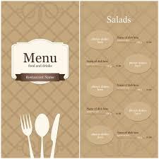 blank menu templates free blank menu templates blank menu template royalty