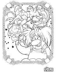 coloring pages of club penguin h2o just add water coloring pages coloring pages for kids image