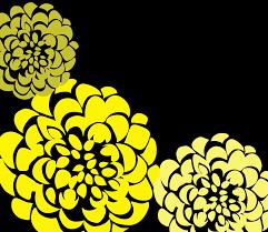 chrysanthemum wedding invitation u2013 yellow and gray wedding