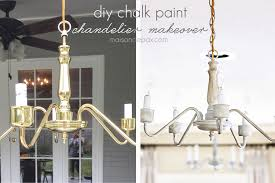 Painted Chandelier Chalk Paint Chandeliers Maison De Pax
