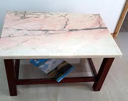 Marble Effect Coffee Tables Marble Table Etsy