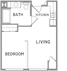 Studio Plans by One Bedroom Apartment Plan Awesome Bedroom Bathroom Parkchester