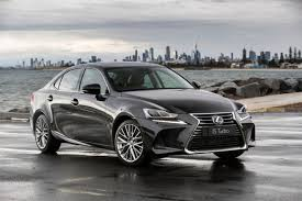 lexus is 200t australia refreshed 2017 lexus is range pricing and specification announced