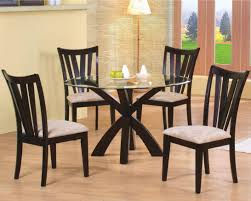 round table in santa clara wood and glass round dining table santa clara furniture store san