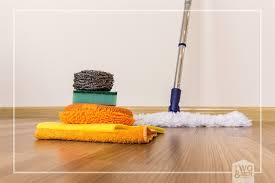 how to properly clean your wood floors at home two a