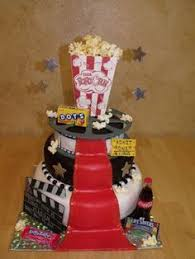 movie night cake this would be perfect for the movie birthday