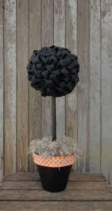 halloween burlap topiary tree black burlap topiary rustic