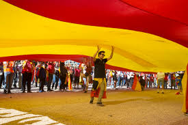 Flags In Spanish The Latest Spain Minister Warns Of Catalan Business Exodus