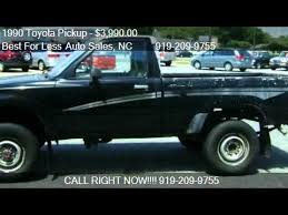 toyota trucks for sale nc 1990 toyota for sale in smithfield nc 27577