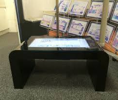 touch screen coffee table touchscreen coffee tables touchscreen coffee tables digital