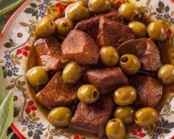 cuisine corse veau aux olives recette de cocotte corse de veau aux olives minceur
