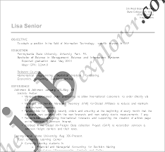 text resume format resume formats types of resume