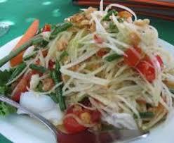 cuisiner la papaye salade de papaye verte recette de salade de papaye verte marmiton