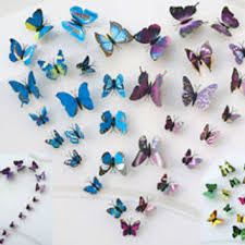3d butterfly design decal wall stickers from egoal5star on ebay