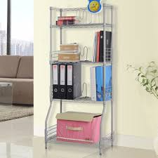 4 Sided Bookshelf Aliexpress Com Buy Langria 4 Tier Classic Metal Wire Bookshelf