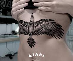tattoo bird geometric chest tattoo tattoo for women geometric