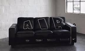 Buy A Couch Online A Nike Air More Uptempo Couch Is Actually A Thing See It Here