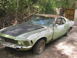 mustang project cars for sale 1970 ford mustang fastback v8 project parts car engine