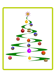 free stock photo of helix christmas tree vector clipart public
