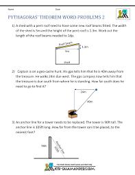 pythagoras theorem questions