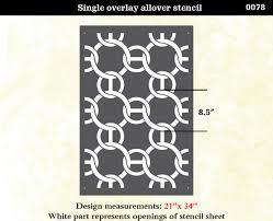 trellis pattern stencil home design u0026 interior design