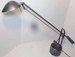 tensor counter balanced halogen desk lamp gray mcm kovac inspired