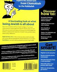 holidays for dummies judaism for dummies ted falcon david blatner 9780764552991
