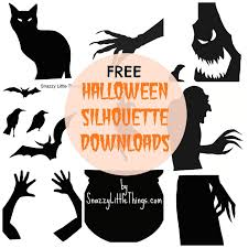 Lighted Halloween Decorations For Windows by Free Downloads Halloween Window Silhouettes Halloween Window