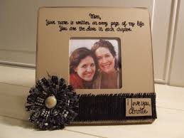 mother u0027s day gift personalized frames neutral color mom