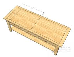 Kreg Jig Table Top Ana White Wooden Train Table Coffee Table Diy Projects