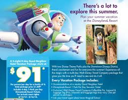 3 disneyland family vacation packages deal snob trips