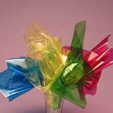 cello paper rolls of color cellophane inexpensive create a blue aquarium