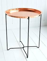 marble side table target marble and copper side table great copper side table with copper