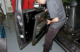 nissan titan door panel removal alpine installs their game changer 9 inch avn system in our ford f 150