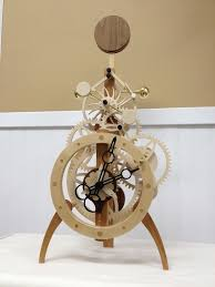Free Wooden Clock Movement Plans by 66 Best Clocks Images On Pinterest Wooden Gears Wooden Clock